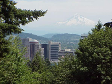 image of Mt. Hood, near Portland, Oregon
